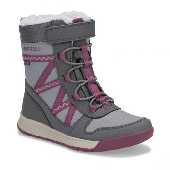 Merrell SNOW CRUSH 2.0 WTRPF, dečije čizme, siva
