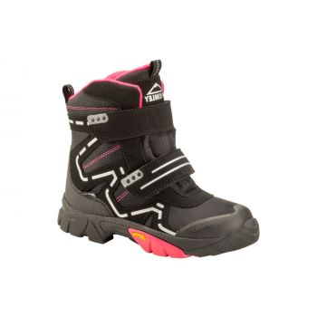 McKinley SNOWSTAR II AQX, dečije čizme, crna