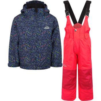 McKinley TIMBER II KDS + RAY, dečji komplet za skijanje, plava