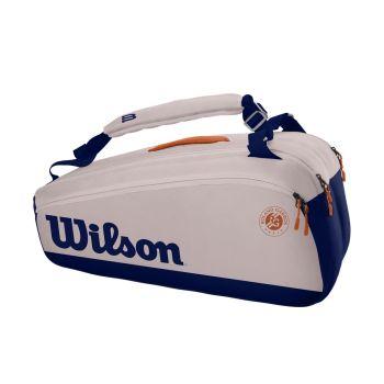 Wilson ROLAND GARROS PREMIUM 9PK, torba, plava