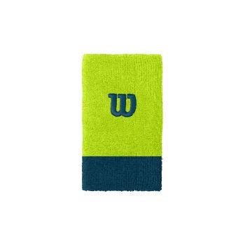 Wilson EXTRA WIDE W WRISTBAND, znojnica za zglob, zelena