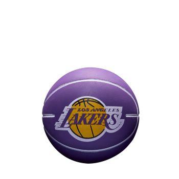 Wilson NBA DRIBBLER LA LAKERS, mini lopta za košarku, ljubičasta