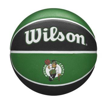 Wilson NBA TEAM TRIBUTE BOSTON CELTICS, lopta za košarku, zelena