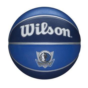 Wilson NBA TEAM TRIBUTE DALLAS MAVERICKS, lopta za košarku, plava