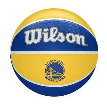 Wilson NBA TEAM TRIBUTE GOLDERN STATE WARRIORS, lopta za košarku, žuta