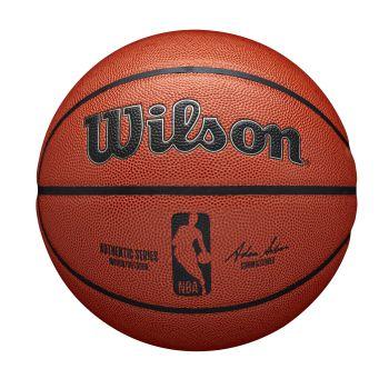 Wilson NBA AUTHENTIC INDOOR OUTDOOR, lopta za košarku, braon