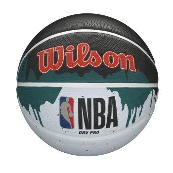 Wilson NBA DRV PRO DRIP, lopta za košarku, crna
