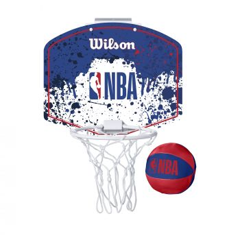 Wilson NBA TEAM MINI HOOP NBA, tabla sa obručem, bela