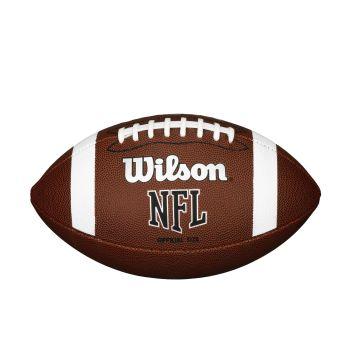 Wilson NFL OFFICIAL BULK, lopta za ameriški fudbal, braon