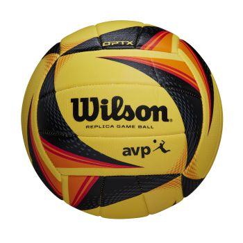 Wilson OPTX AVP REPLICA, mivka lopta za odbojku, žuta