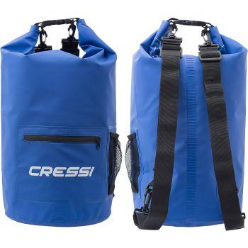 Cressi Sub DRY BAG WITH ZIP 10L, torba, plava