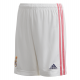 adidas REAL H SHO Y, dečji šorc za fudbal, bela