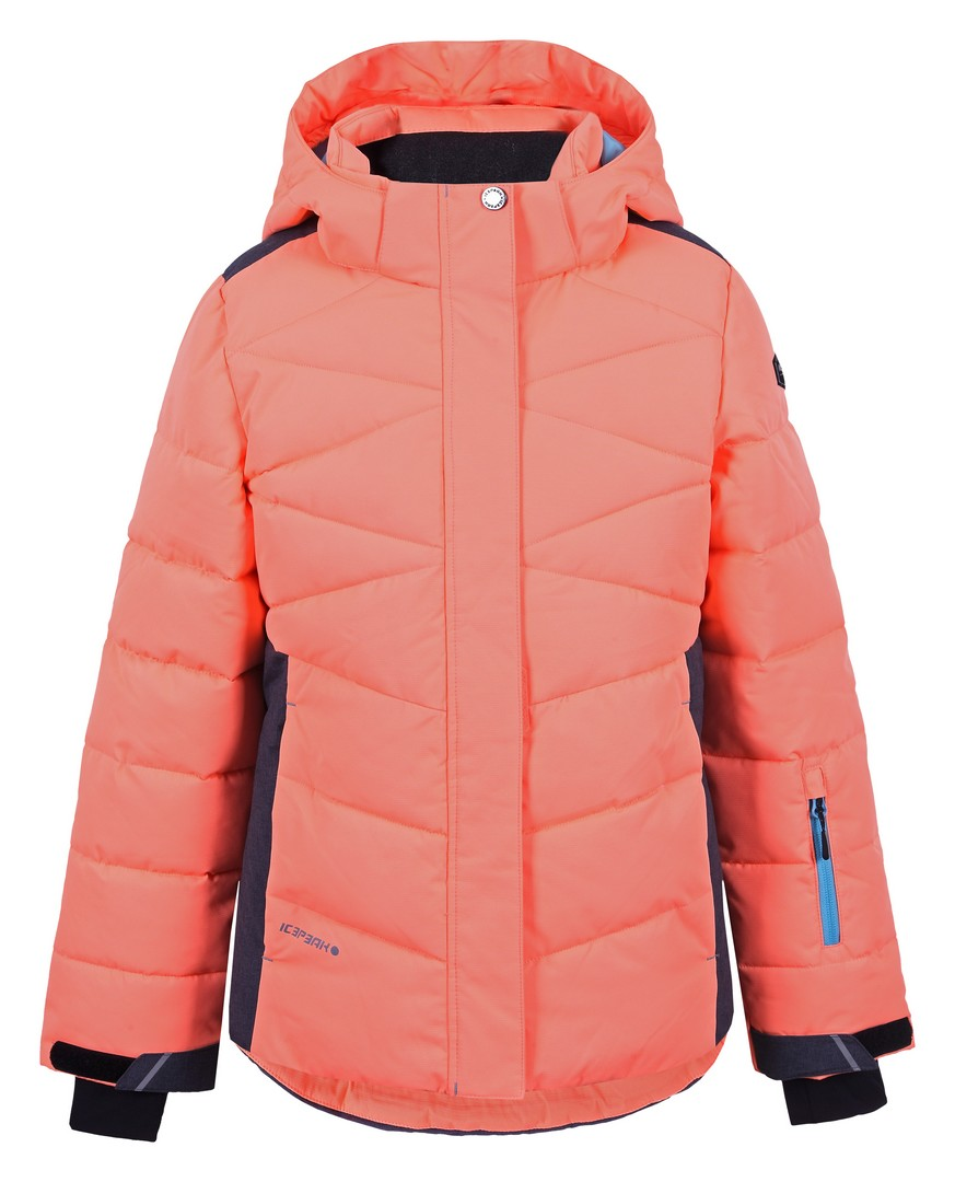Icepeak HELIA JR, dečja jakna za skijanje, narandžasta