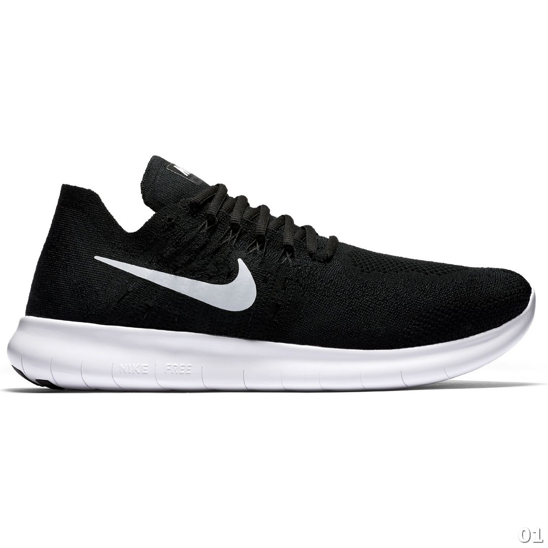 Nike NIKE FREE RN FLYKNIT 2017, muške patike za trčanje, crna