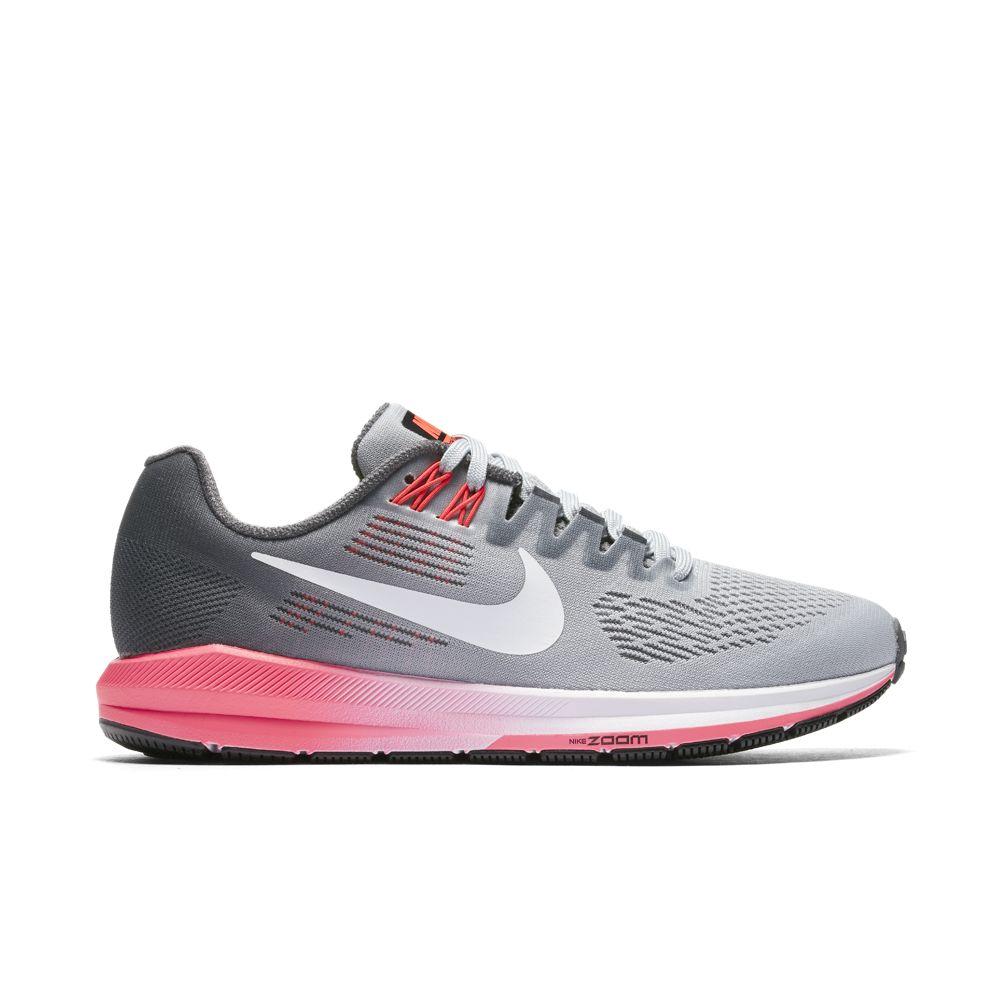 Nike W NIKE AIR ZOOM STRUCTURE 21, ženske patike za trčanje, siva