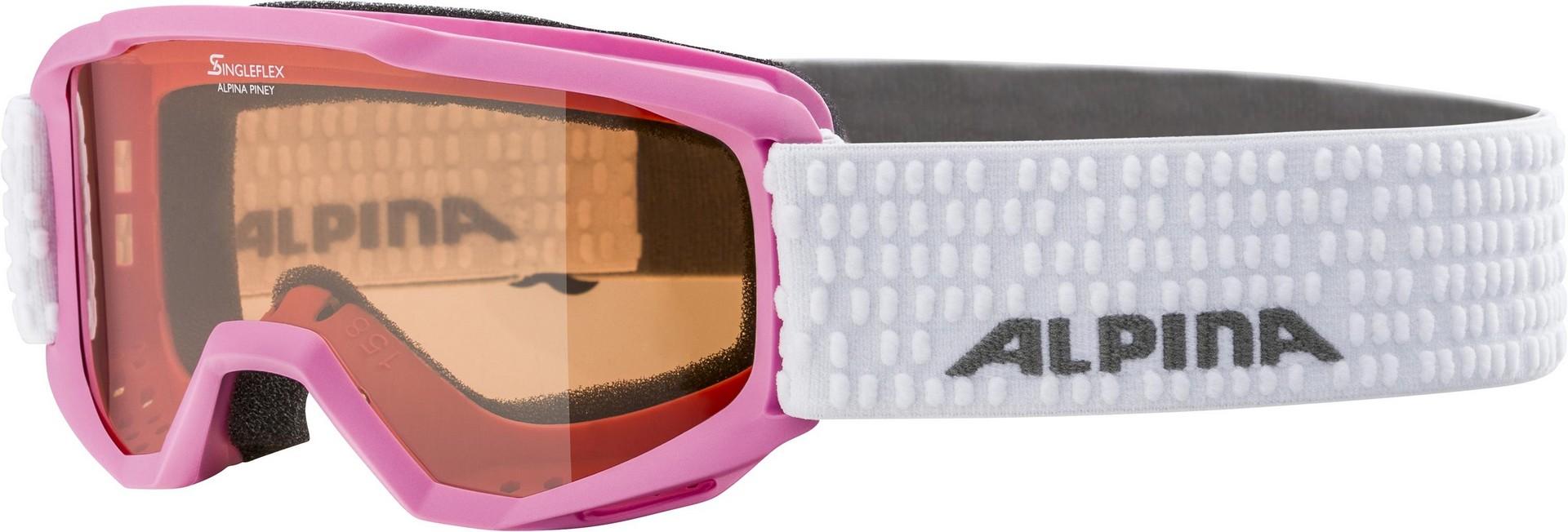 Alpina PINEY, dečije skijaške naočare, pink