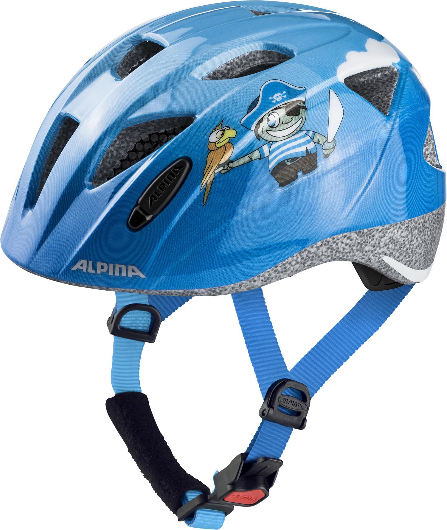 Alpina XIMO, dečija kaciga, plava