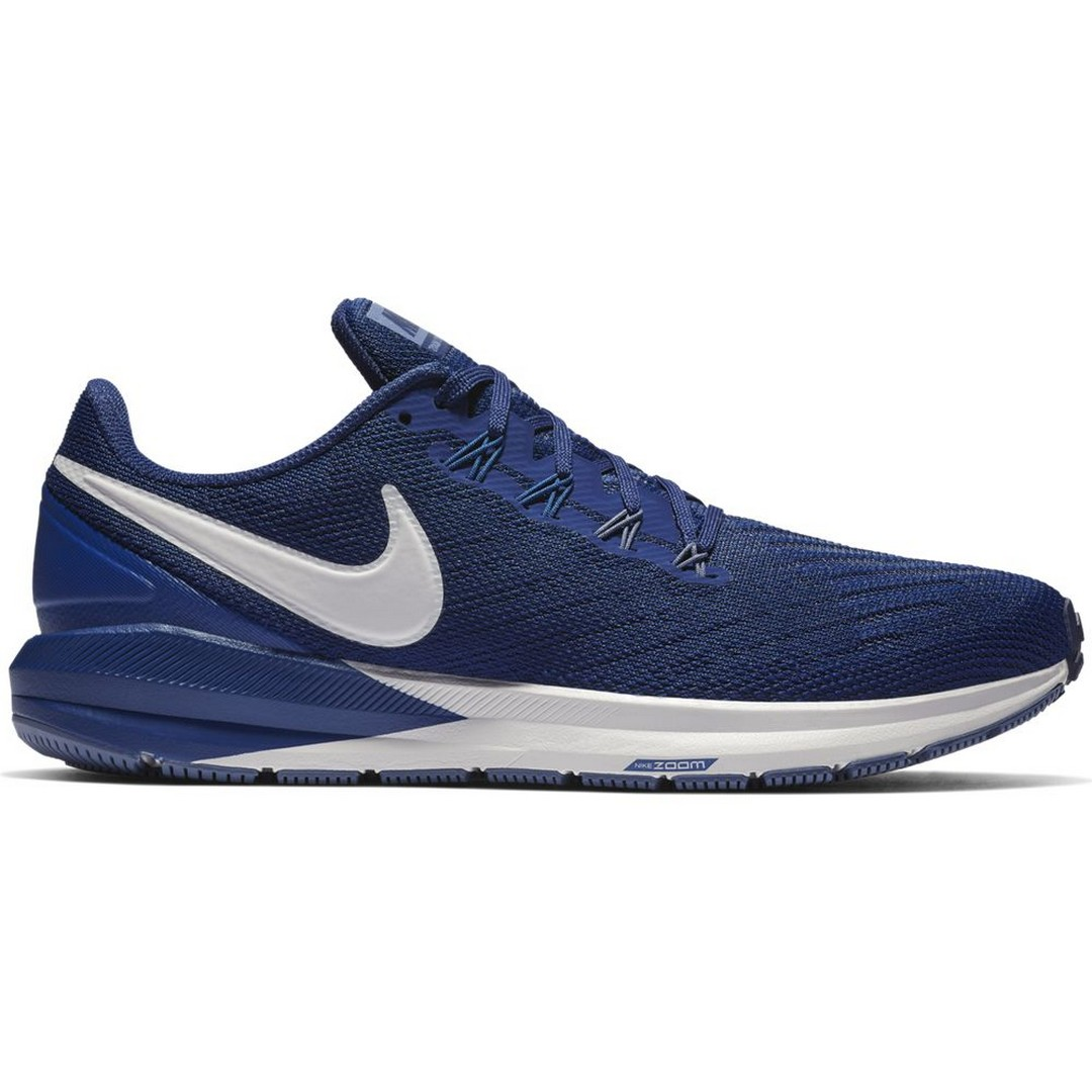 Nike NIKE AIR ZOOM STRUCTURE 22, muške patike za trčanje, plava