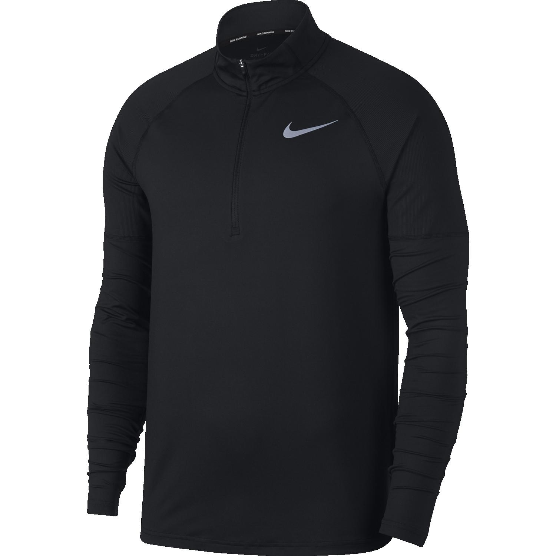 Nike M NK ELMNT TOP HZ 2.0, muški duks za trčanje, crna