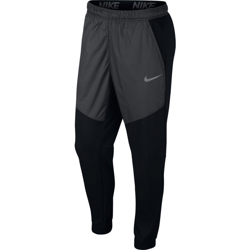 Nike M NK DRY PANT FLC UTILITY CORE, muški donji deo trenerke, crna