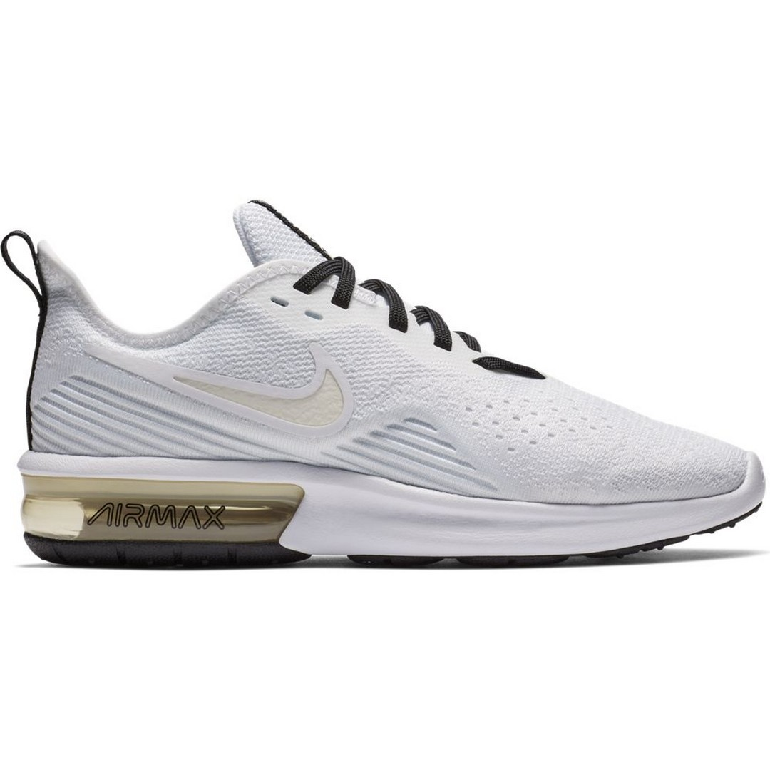 Nike WMNS NIKE AIR MAX SEQUENT 4, ženske patike za trčanje, bela