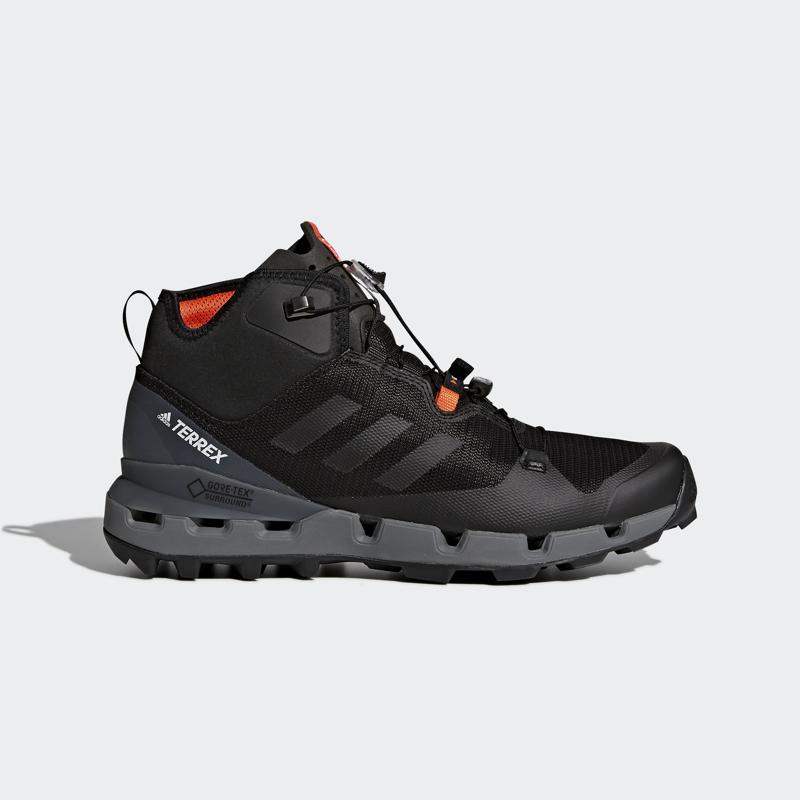 adidas TERREX FAST MID GTX-SURROUND, muške planinarske cipele, crna