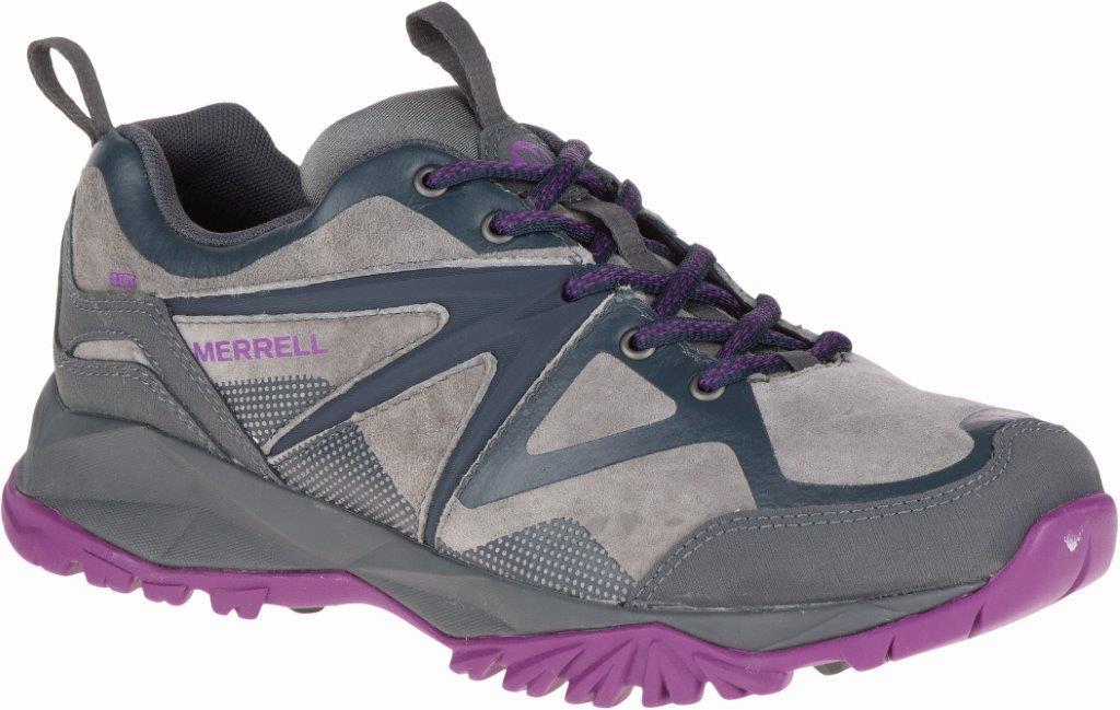 Merrell CAPRA BOLT LT WP, ženske cipele za planinarenje, siva