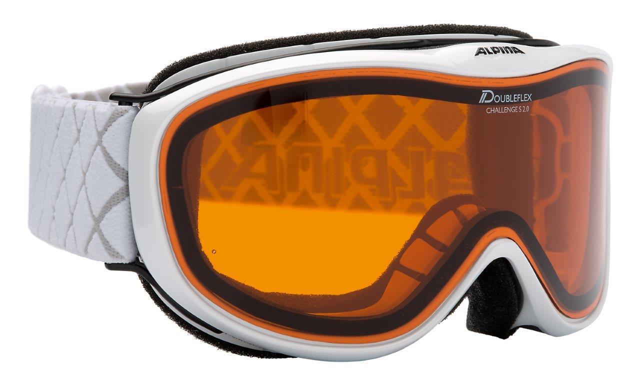 Alpina CHALLENGE S 2.0  DH, skijaške naočare, bela