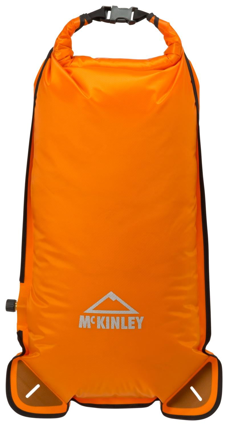 McKinley COMPRESION BAG WITH VALVE, dodatak za planinarenje, narandžasta