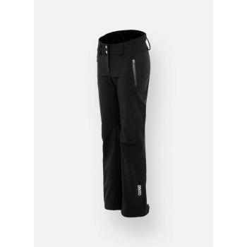 Colmar SOFTSHELL SKI PANTS WITH GAITERS, ženske pantalone za skijanje, crna