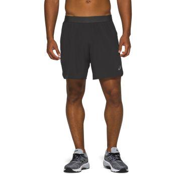 Asics ROAD 2-N-1 7IN SHORT, muški šorc za trčanje, crna