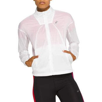 Asics TOKYO JACKET, ženska jakna za trčanje, bela
