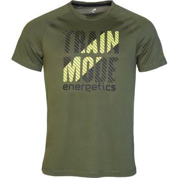 Energetics MASSIMO V UX, muška majica za fitnes, zelena