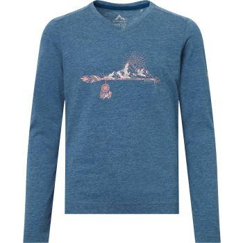 McKinley BELLUN GLS, dečja majica dug rukav za planinarenje, plava