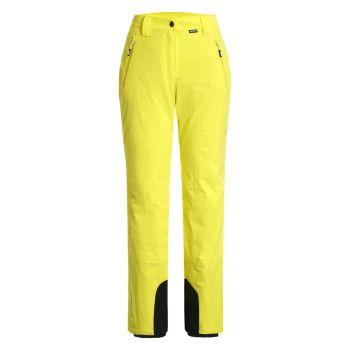 Icepeak FREYUNG, ženske pantalone za skijanje, žuta