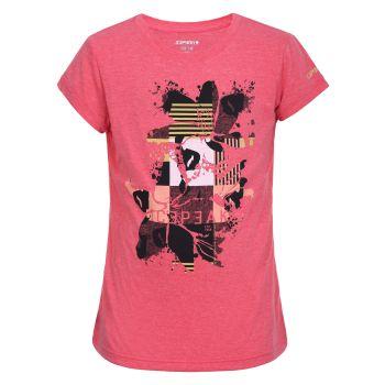 Icepeak KAUB JR, dečja majica za planinarenje, crvena