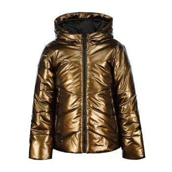 Icepeak KELL JR, dečja jakna a planinarenje, zlatna