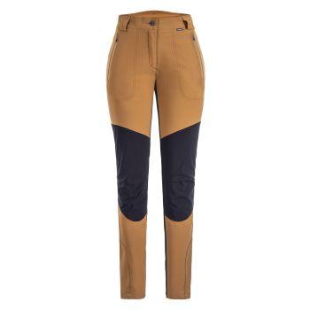 Icepeak DORAL, ženske pantalone za planinarenje, braon