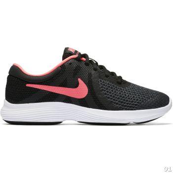 Nike NIKE REVOLUTION 4 (GS), dečije patike za slobodno vreme, crna