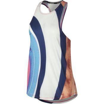 Nike W NK TANK EVA, ženska majica za trčanje, multikolor