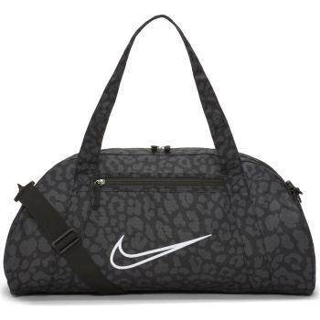 Nike W GYM CLUB BAG 2.0 AOP NP, torba, crna