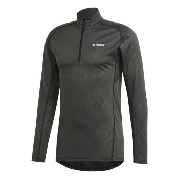 adidas TRACERO 1/2 LS, muška majica dug rukav za planinarenje, crna