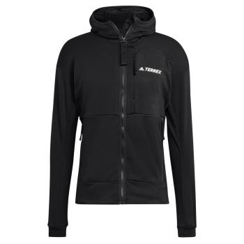adidas TXFLOOCE HD J, muški duks za planinarenje, crna