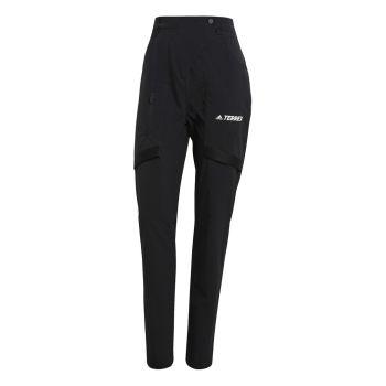 adidas W ZUPAHIKE PTS, ženske pantalone za planinarenje, crna