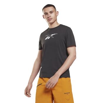 Reebok TS 60/40 ROAD TRIP GR T, muška majica za fitnes, crna