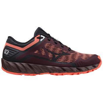 Mizuno WAVE IBUKI 3, ženske patike za trail trčanje, crvena