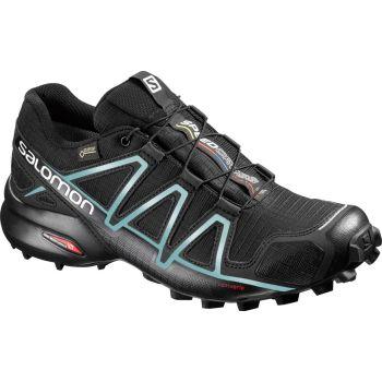 Salomon SPEEDCROSS 4 GTX W, ženske patike za trčanje, crna