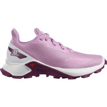 Salomon ALPHACROSS BLAST J, dečije patike za trčanje, pink