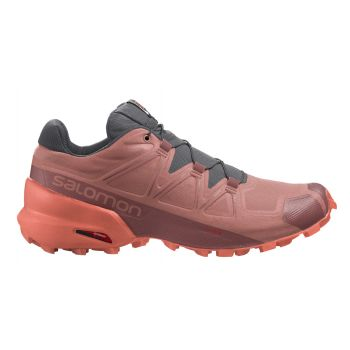 Salomon SPEEDCROSS 5 W, ženske patike za trčanje, crvena
