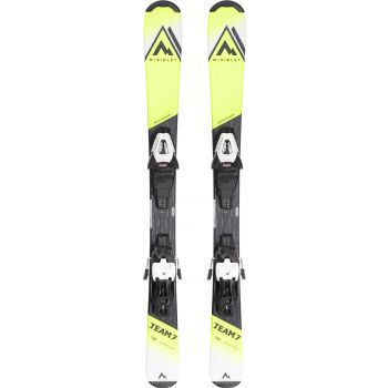 McKinley TEAM 7 JT, set skija dečiji, žuta